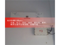 1.5匹喷漆房用防爆空调